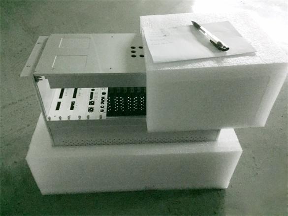 工业交换机的珍珠棉防震缓冲内包装设计案例